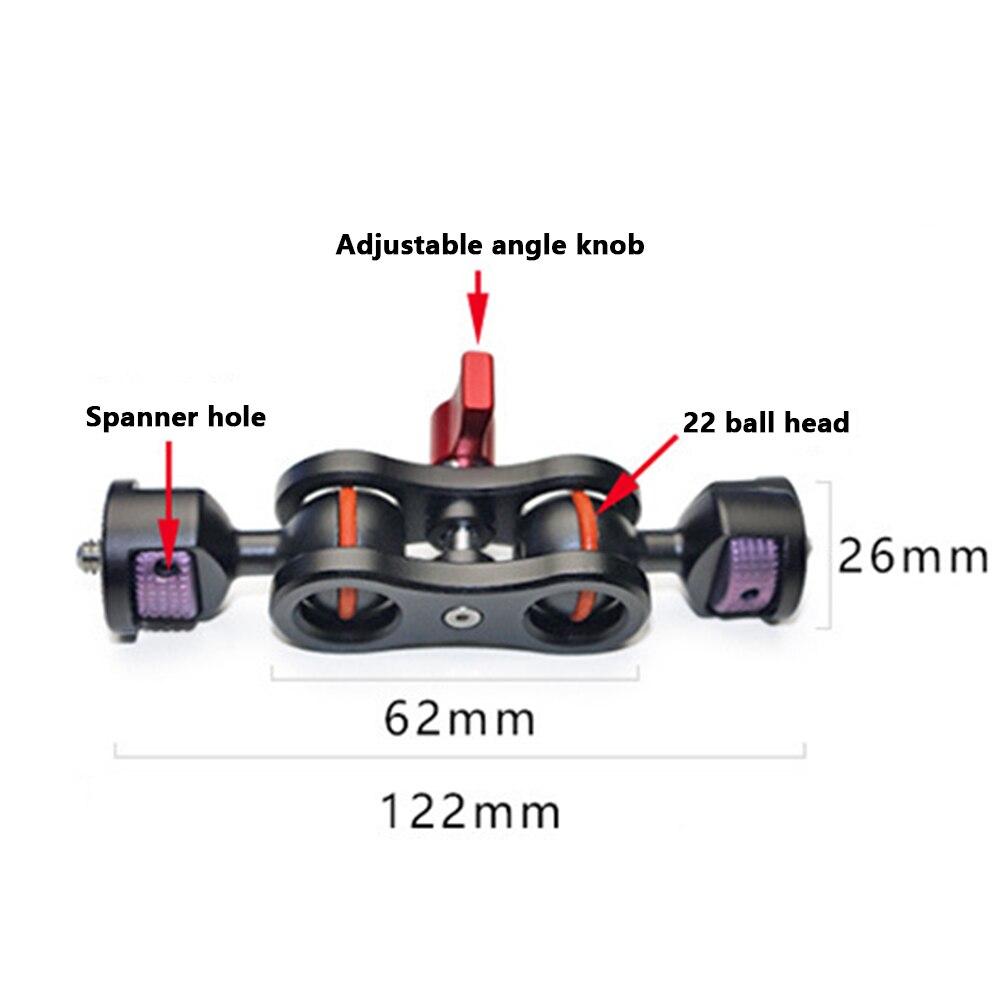 Универсальный карданный шарнир для скалолазания, вращающийся держатель, для путешествий, волшебная рукоятка, для улицы, легкая установка, кронштейн для камеры, регулируемый для SLR A37