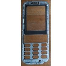 PHIXFTOP original frente habitação com vidro para Philips CTE560 E560 habitação para Xenium Móvel telefone celular