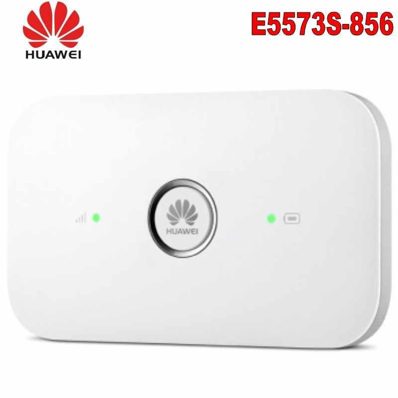 Original Unlock Huawei E5573 E5573s-856 Portátil 4G LTE FDD LTE Móvel Wi-fi 150Mbps Roteador Sem Fio, PK E5372 E5577