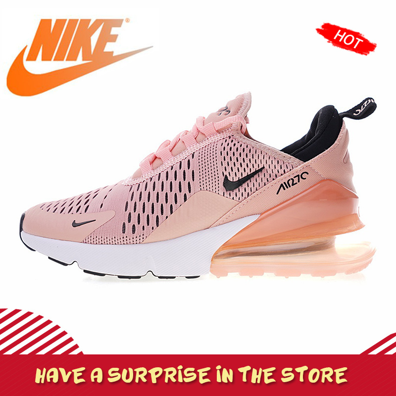NIKE Air Max 270 Original authentique femmes chaussures de course sport en plein Air baskets confortable respirant nouvelle annonce AH6789-600