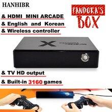 Puszka pandory 3D mini automat do gier 3160 w 1 grze gra wideo światło księżyca kuferek na skarby 2D gra retro PS1 3D pudełko do gry 1500 w 1 grze