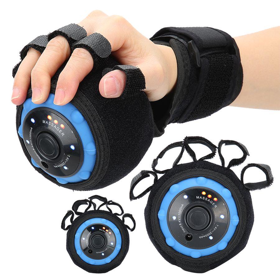 Strumento di allenamento per la riabilitazione delle dita polso vibrazione della mano palla da massaggio stimolare il nervoso per il paziente di emiplegia da colpo