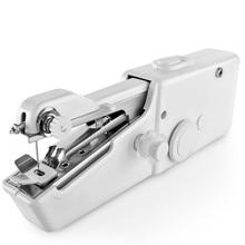 Мини Портативная ручная швейная машина для одежды ткань быстрая швейная игла электронная швейная машина
