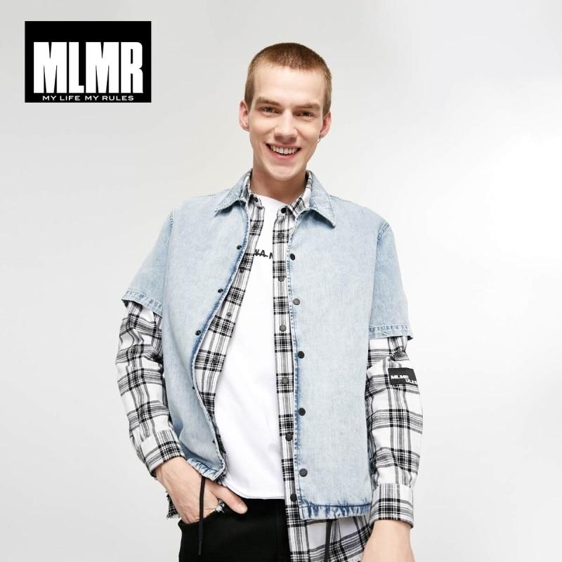 JackJones MLMR Men's Loose Fit Cotton Pointed Collar Short-sleeved Shirt Streetwear Style| 219104512