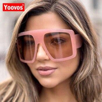 Yoovos-Gafas De Sol De tamaño grande para Mujer, anteojos De Sol femeninos...