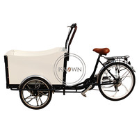 Cheapest free shipping pedal adult stuff carry cargo bike electric 3 wheel tricycle with box discount