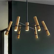 Zerouno Lámpara Led de techo de aluminio, 6Led, 8Leds, 220V, para comedor, sala de estar, Hotel, centro comercial, iluminación Led diaria