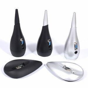 Image 4 - 2 قطعة الخارجية سوبر مكبر الصوت حمى HIFI سوبر عالية المتكلم كامل التردد رفيق ثابت شل الجوف الجسم
