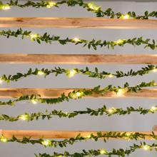 Гирлянда в виде листьев с питанием от usb 2 м/3 м/5 м/10 м праздничная