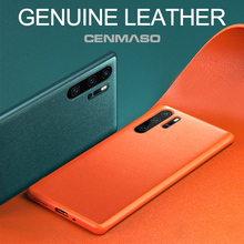 Original Genuine Leather Official Color Soft Silicone Cover for HUAWEI
