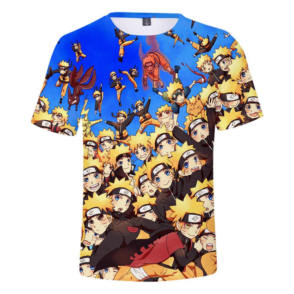 NARUTO 3d Camiseta Uchiha Itachi Akatsuki Zetsu Dos Desenhos Animados Anime T-shirt Dor Konan Todos Os Membros Cosplay Tops Mens Boy Streetwear Tee
