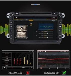 Image 4 - Eunavi 8 2 Din Android car dvd radio for VW Volkswagen Polo Jetta passat b6 b7 cc fabia Touran golf 6 Tiguan rns510 GPS DSP BT