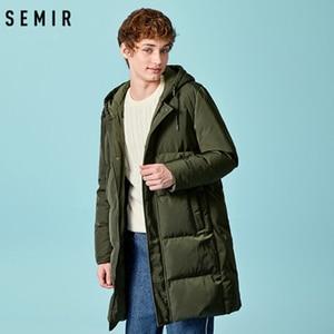 Image 2 - SEMIR 2020 Neue Winter Männer Unten Jacke 2XL Extra Lange Ente Unten Mantel Verdicken Warme Winddicht Männlichen Outwear