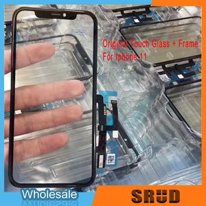 Image 4 - LCD Touch Screen Digitizer Glass Panel For iPhone XR 11 With Frame No OCA