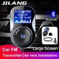 Jilang Auto MP3 Player Audio Adapter FM Transmitter Bluetooth Hände freies FM Modulator Ster Unterstützung  TF für iPhone & Android-in Auto MP3-Player aus Kraftfahrzeuge und Motorräder bei