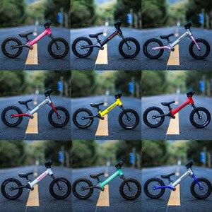 Сверхлегкий детский велосипед с нажимным балансом 12 дюймов для езды на велосипеде от 2 до 6 лет