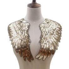 1 пара, модный дизайн, блестки, аппликация в виде крыла, вышивка, шитье, нашивки, украшение одежды, аксессуары для одежды, подарок