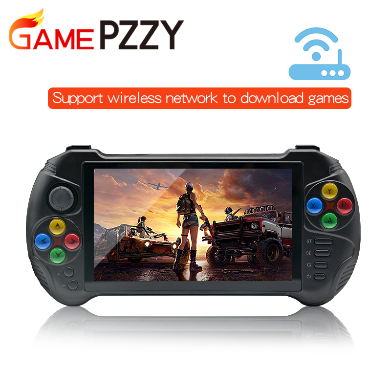 GAME PZZY X15 Andriod Handheld Game Console 5.5 INCH 1280*720 Screen MTK8163 quad core 2G RAM 32G ROM Video Handheld Game Player(China)
