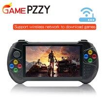 เกม PZZY X15 Android คอนโซลเกมมือถือ 5.5 นิ้ว 1280*720 หน้าจอ MTK8163 Quad Core 2G RAM 32G ROM วิดีโอเกมมือถือเครื่องเล่น