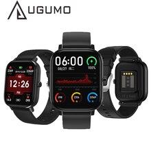 UGUMO yeni P8 Pro DT35 akıllı saat 1.54 inç ekg kalp hızı kan basıncı monitörü BT çağrı kol saati erkekler kadınlar Smartwatch