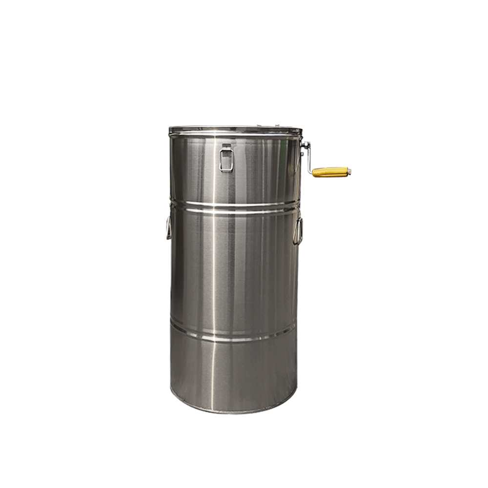 Stainless Steel 2 Frame Honey Extractor Manual Beekeeping Equipment New