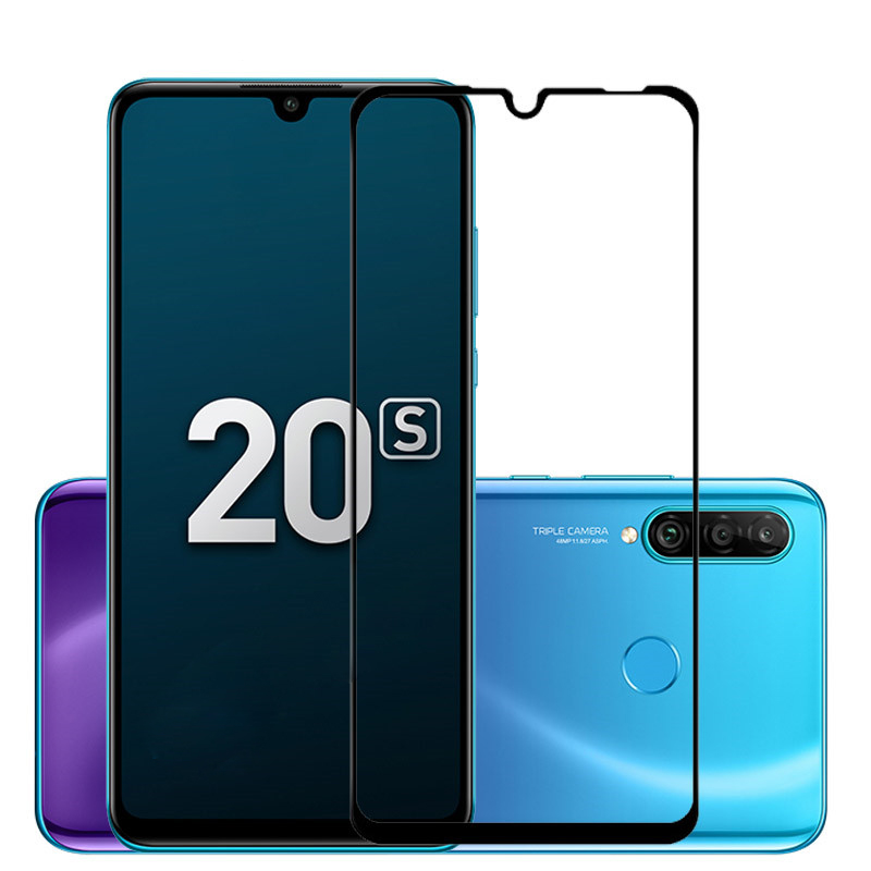 For Huawei Honor 20s MAR-LX1 Screen Protector Full Cover On Honor20 S Tempered Glass On Honor 20s 20 S Glass