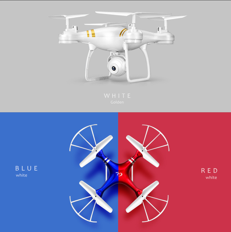 Aerial Photography Real-Time WiFi Image Transmission With High Quadcopter Gravity Sensing Pressure Set High Remote-controlled Un