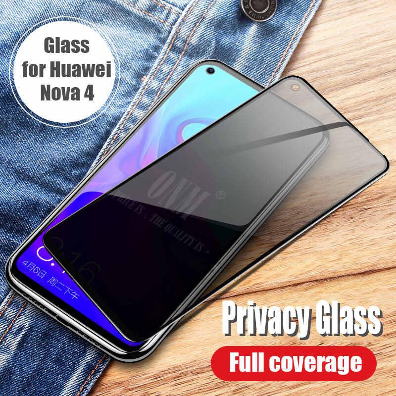 Антишпионское закаленное стекло для huawei Honor View 10, полное покрытие, защита экрана Honor V10, защита конфиденциальности, закаленное стекло