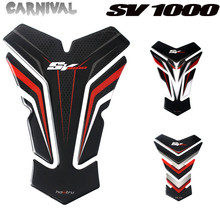 For Suzuki SV1000 SV1000S 3D Resin Tank Pad Protector for Motorcycle Decal Sticker free shipping moto brake rotor disc for suzuki gsxr600 97 12 sv650 650s 03 09 gsxr750 96 12 gsxr1000 01 11 sv1000 sv1000s 03 07