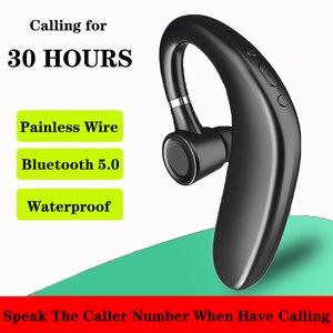 Бесплатная доставка Q11 Bluetooth наушники 180 мАч одиночные свободные руки с микрофоном бизнес Bluetooth наушники для вождения PK V9 V10