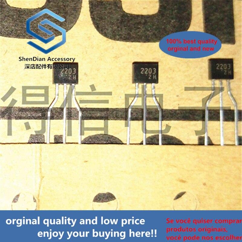 30pcs 100% Orginal New RN2203 2203  TO-92S Switching, Inverter Circuit, Interface Circuit And Driver Circuit Applicat Real Photo