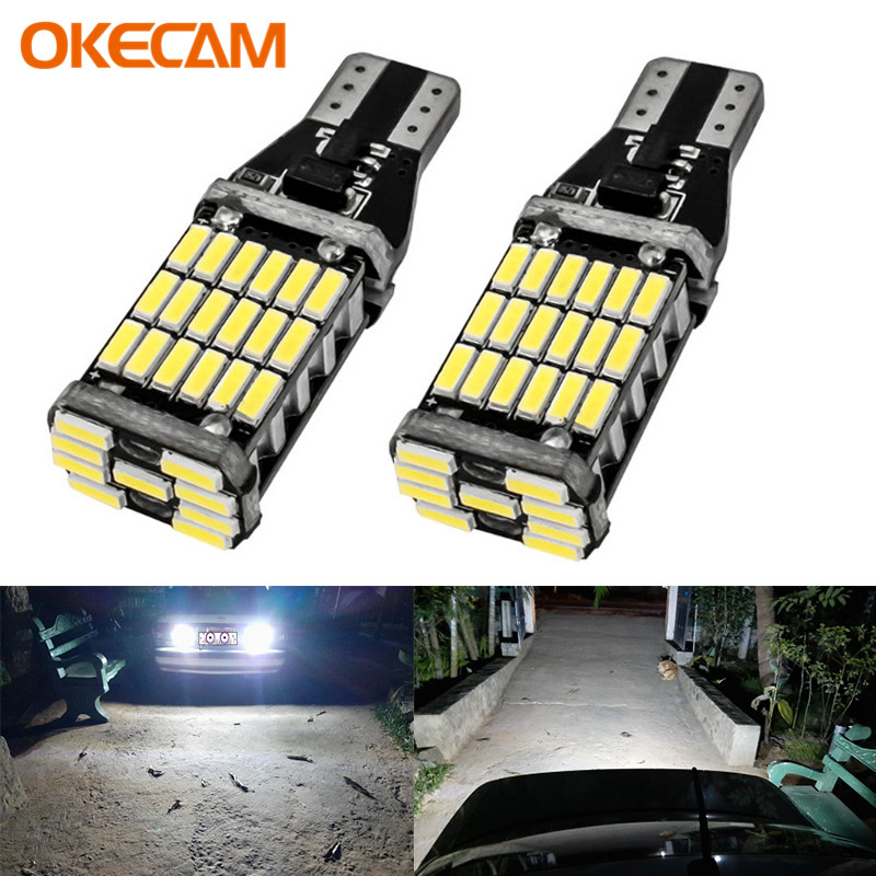 2pcs <font><b>T15</b></font> <font><b>led</b></font> <font><b>Canbus</b></font> <font><b>LED</b></font> Bulb Car Backup Reverse Lights for Toyota C-HR Corolla Rav4 Yaris Avensis Camry CHR Auris Hilux 921 W16W image