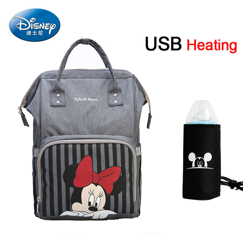 Disney Diaper Bag Maternity Nappy Backpack Large Capacity Nursing Travel Backpack  Baby Diaper Bags