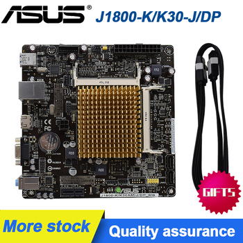For ASUS ITX motherboard J1800-K/K30-J/DP DDR3 17*17 Mini PC board Integrated J1800 dual-core CPU DDR3 HDMI Synology nas