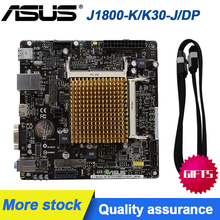 Para asus itx placa-mãe J1800-K/K30-J/dp ddr3 17*17 mini placa integrada j1800 duplo-núcleo cpu ddr3 hdmi synology nas