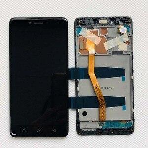 Image 2 - Original test 5.5 Neue Für Lenovo Vibe K6 Plus K53b36 K53b37 K6 Beachten Voller LCD DIsplay + Touch Screen digitizer Montage + Rahmen