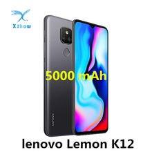 Lenovo Lemon K12 смартфон, 4 Гб RAM, 64 ГБ ROM, 6,5 дюймов 20:9 5000 мАч Snapdragon 460 Octa Core 48MP камера OTG Мобильный телефон