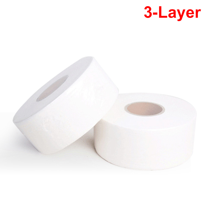 1 Roll 3-Layer Household Toilet Tissue Native Wood Pulp Soft Skin Friendly Thicken Toilet Paper For Hotel Home Restaurant