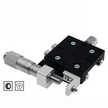 pt sd203 r axis 360 degree manual rotary stage 100mm rotation stage rotating platform rotary stage X Axis Displacement Manual Platform Optical Sliding Table Guide Rail Type Fine-tuning 0.01MM Precision Sliding Stage LX30/40/50