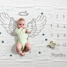 Baby muslin swaddle cotton soft newborn baby age mi