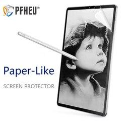 Papier  taki jak folia zabezpieczająca ekran matowy PET Anti Glare malarstwo dla Apple iPad 9.7 Pro 10.5 mini 5 face id 11 12.9 nowy 10.2 cal w Ochraniacze ekranu do tabletów od Komputer i biuro na
