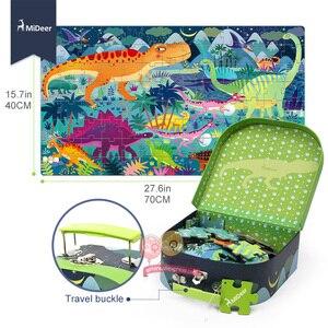 Image 5 - Mideer 子供大ジグソーパズルセット 100 + 個赤ちゃんのおもちゃ恐竜妖精物語睡眠美容教育玩具子供のためギフト