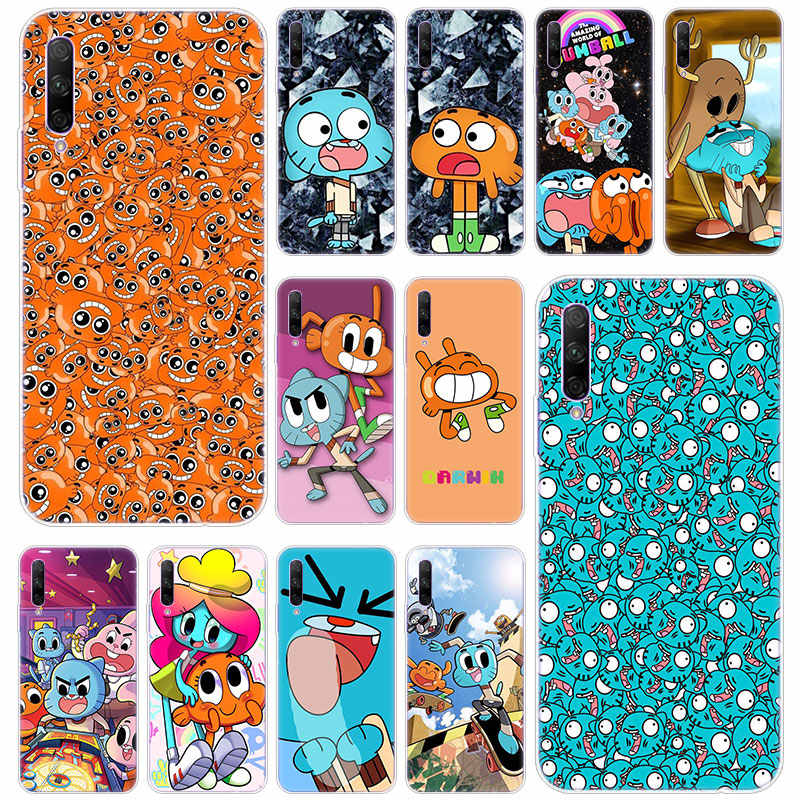 De Verbazingwekkende Wereld Gumbal Siliconen Telefoon Case voor Huawei Honor 20 20i 10i 10 9 8 Lite 9X 8X 8A 8S 7S 7A Pro View 20 Play3 Cover