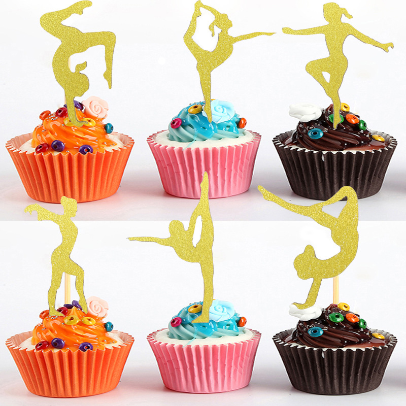 Mermaid Cake Topper Happy Birthday Cupcake Topper Cake Picks Decoration H Home Garden Edemia Greeting Cards Party Supply
