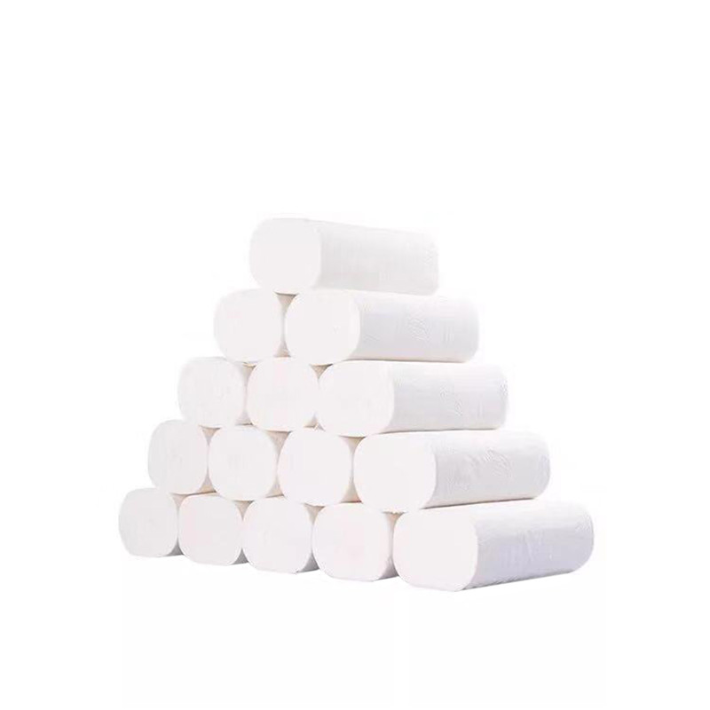6 Rolls White Home Kitchen Toilet Roll Paper Tissue Smooth Soft 3-Ply Toilet Paper Car Accessories Interior Car Paper Towels