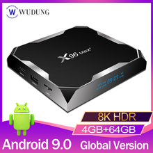 X96 Max plus TV Box Amlogic S905X3 Android 9.0 4G 32G 64G 8K 1080P HD lecteur multimédia intelligent décodeur 2GB 16GB VS X96 Max(China)