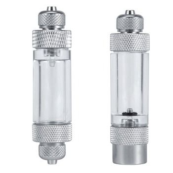 Аквариумный обратный клапан с одной/двойной головкой, регулирующий рассеиватель CO2, счетчик пузырьков CO2, не возвращаемый инструмент для аквариума