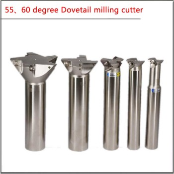 YW55 60 degree 25/30/40/50/60/80mm  Dovetail V-groove milling cutter rod with straight shank and dovetail shank groove 60 soul