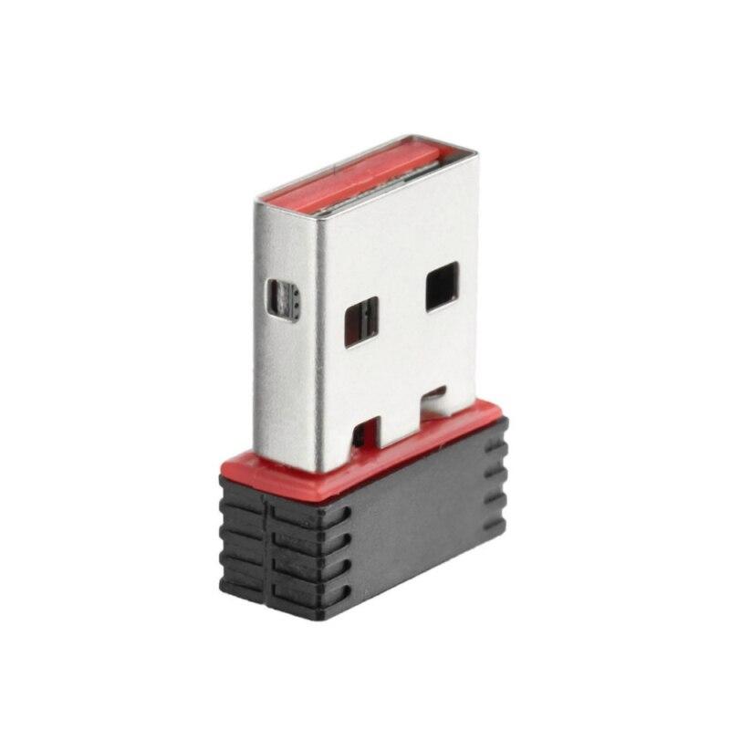 Мини USB WiFi адаптер 150 Мбит/с беспроводной Wi Fi адаптер для ПК USB Ethernet Wi Fi модем 2,4G сетевая карта антенна Wi Fi приемник передачи
