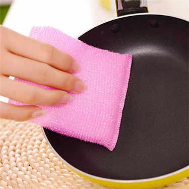1PC Starke Absorbent Weiche Scheuer Pad 30g Küche Reinigung Gericht Handtuch Mikrofaser Haushalts Reinigung Tücher Gadgets Heißer Verkauf